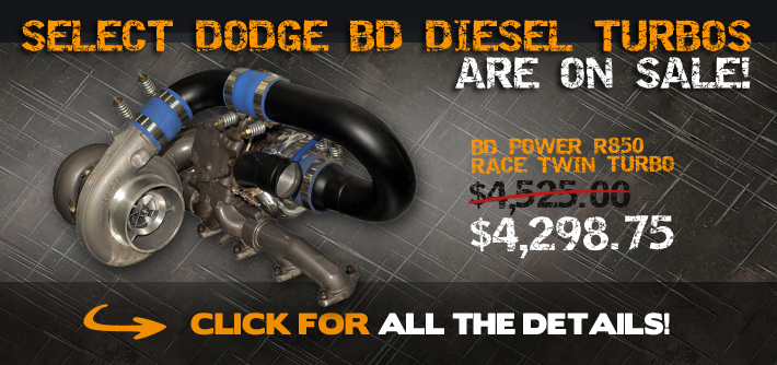 BD Diesel Turbo's are On Sale!
