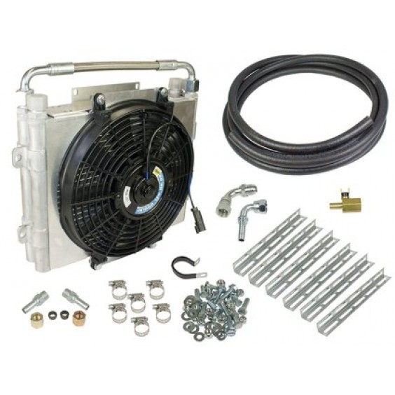 Double Stacked Auxiliary Transmission Coolers