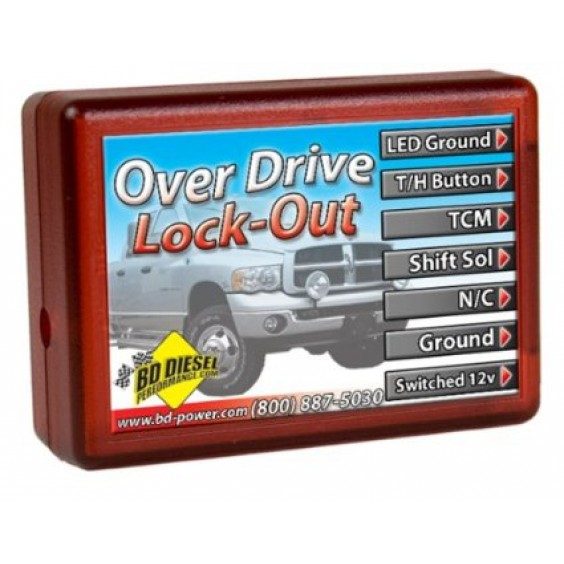 BD Power OverDrive Lockout Modual   05 Dodge Automatic