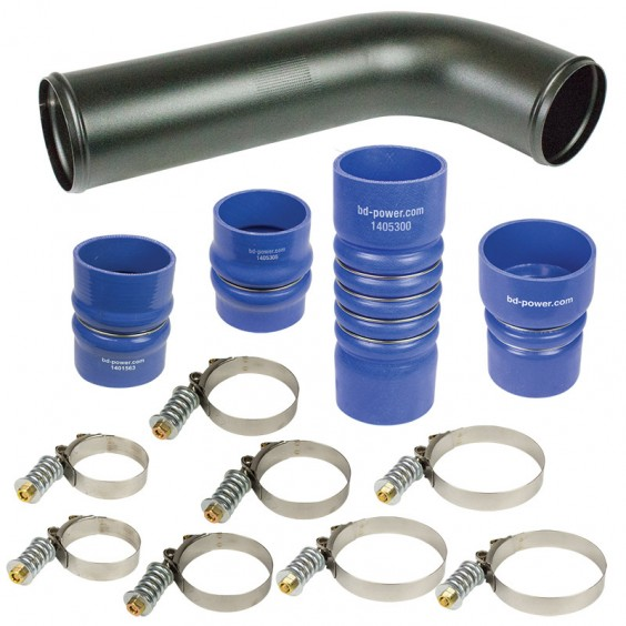 BD Diesel HD Intercooler Hose/Clamp Kit - 2010-2013 Dodge 6.7L