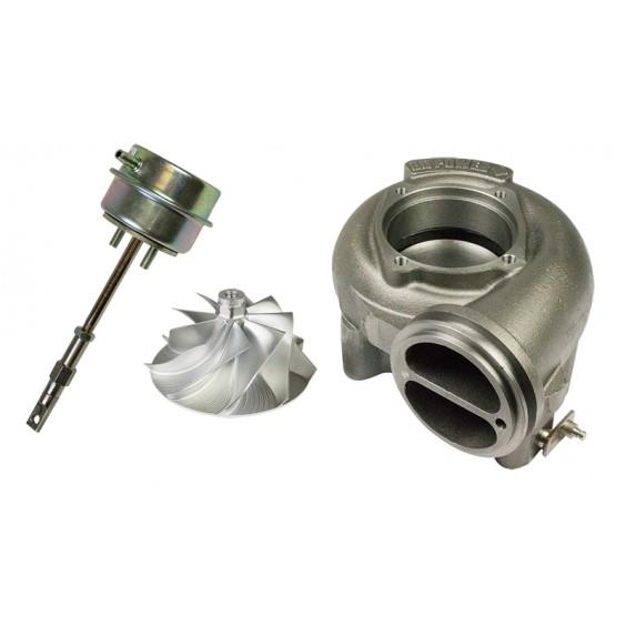 BD Power Billet Compressor Wheel, Waste Gate _ Turbine Housing kit