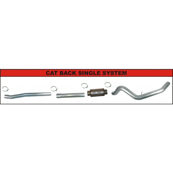 CAT Back Exhaust System | Single