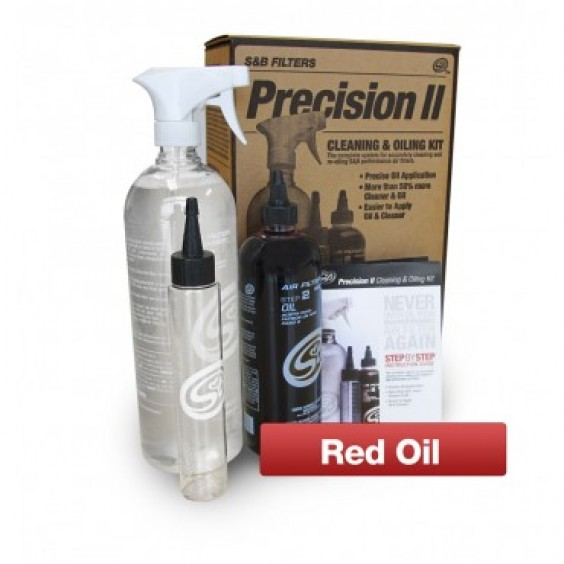 S&B Precision Cleaning & Oiling Kit Red