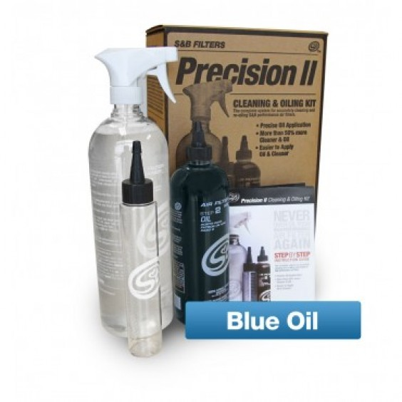 S&B Precision Cleaning & Oiling Kit Blue