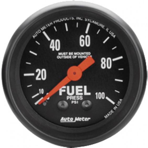 Autometer Z-Series 0-100psi Fuel Pressure Gauge