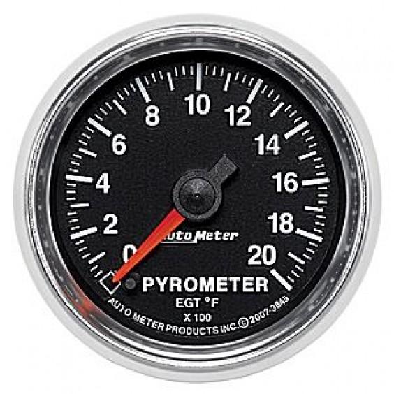 Autometer GS Series 0-2000° Pyrometer Gauge