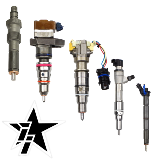 Industrial Injection Ford Powerstroke Injectors