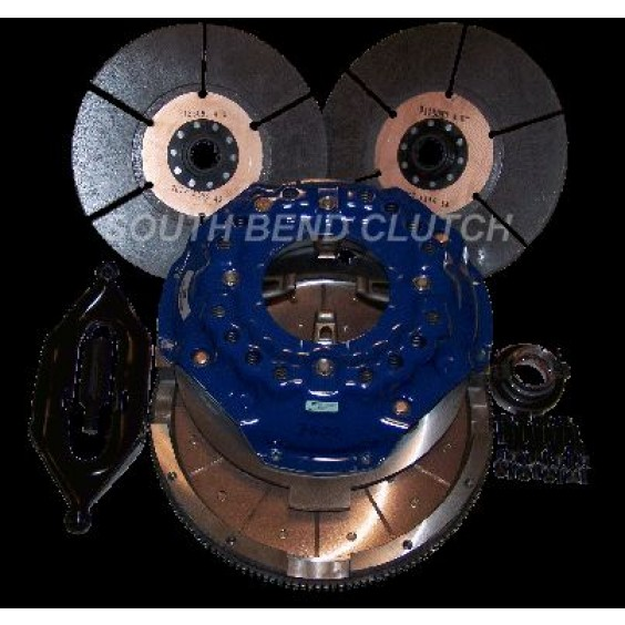 South Bend Clutch Comp Dual Disc 01-05 Chevy 6 speed Clutch Kit | DDMAXFBY