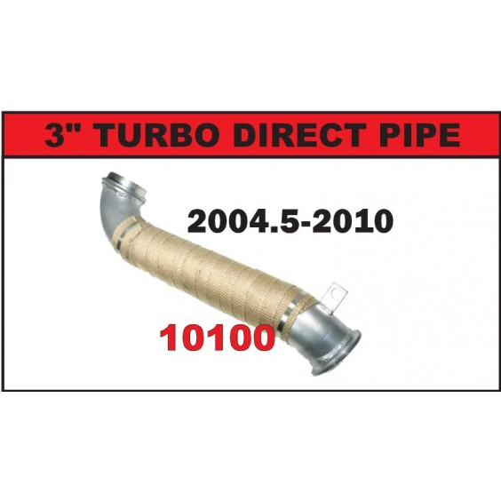 Turbo Downpipe | 04.5-10 Chevy LLY, LBZ & LMM 6.6L Duramax