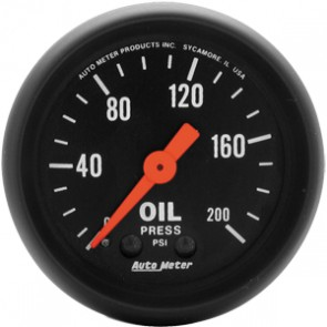Autometer Z-Series Oil Pressure Gauge