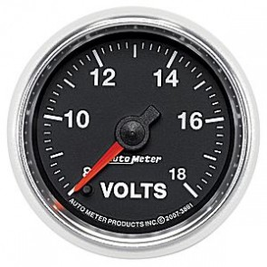 Autometer GS Series Voltmeter Gauge