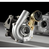 RACE TURBO S400 82mm Billet/87mm 1.00A/R T4 90degree-Outlet