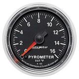 Autometer GS Series 0-1600° Pyrometer Gauge