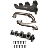 2004-2005 High Flow Exhaust Manifold With Up-Pipe Fed LB7/LLY