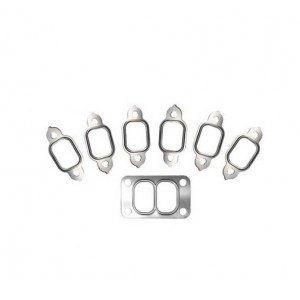 BD Diesel Cummins Exhaust Manifolds 3-Piece And Stainless Steel