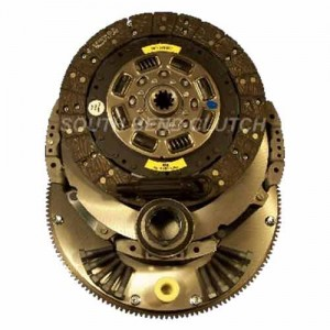 South Bend Clutch 1944324K Clutch Kit with Flywheel (167324) for Ford 93-94 7.3 IDI Turbo 5 speed trans