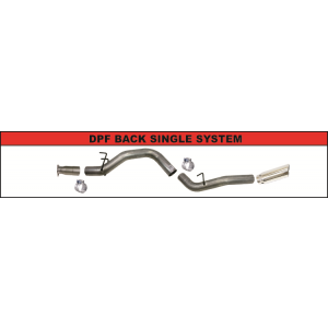 DPF Back Exhaust Kit