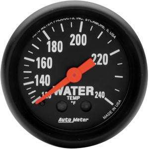 Autometer Z-Series 120-240° Water Temperature Gauge