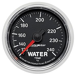 Autometer GS Series Water Temperature Gauge