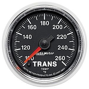 Autometer GS Series 100-260° Trans Temperature Gauge