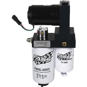 FASS Titanium Fuel Lift Pump 220GPH@55PSI | 99-07 Ford 7.3L and 6.0L Powerstroke