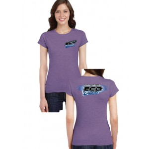 Ladies T-Shirt – Heather Purple