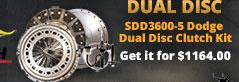 sbc dual disc clutch
