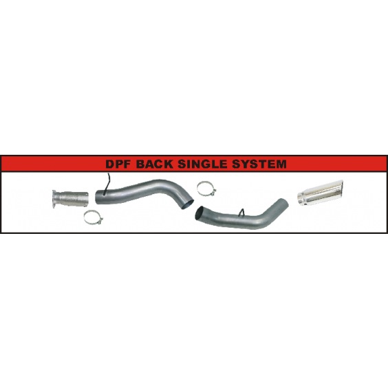 DPF Back Exhaust System