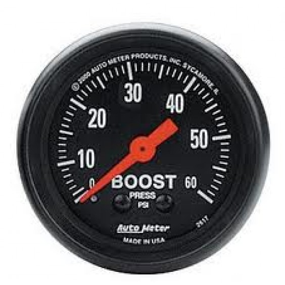 Autometer Z-Series 0-60psi Boost Gauge