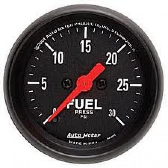 Autometer Z-Series 0-30psi Fuel Pressure Gauge.