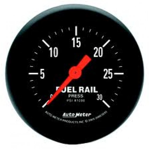 Autometer Z-Series 0-30,000psi Rail Pressure Gauge