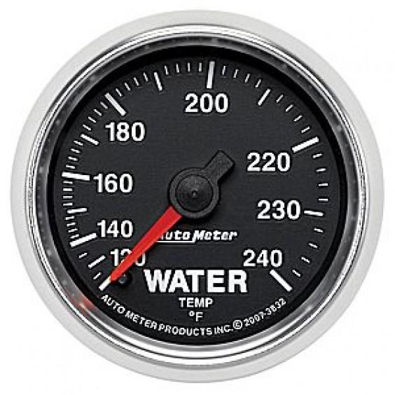 Autometer GS Series Water Temperature Gauge