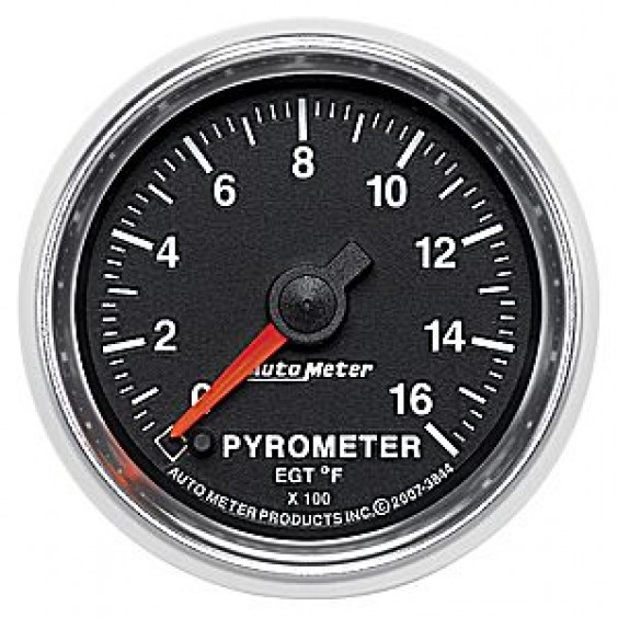 Autometer GS Series 0-1600° Pyrometer Gauge