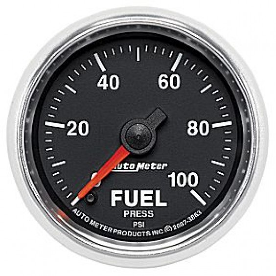 Autometer GS Series 0-100psi Fuel Pressure Gauge