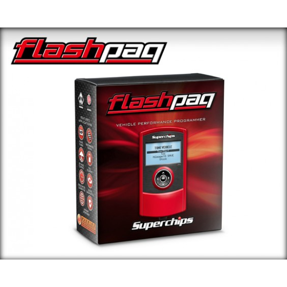 Superchips F4 Dodge Flashpaq 98-10 Dodge 5.9L/6.7L