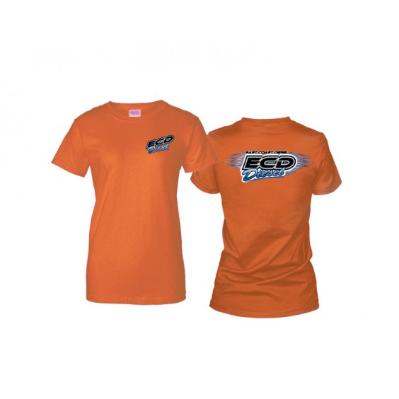Ladies T-Shirt - Heather Orange
