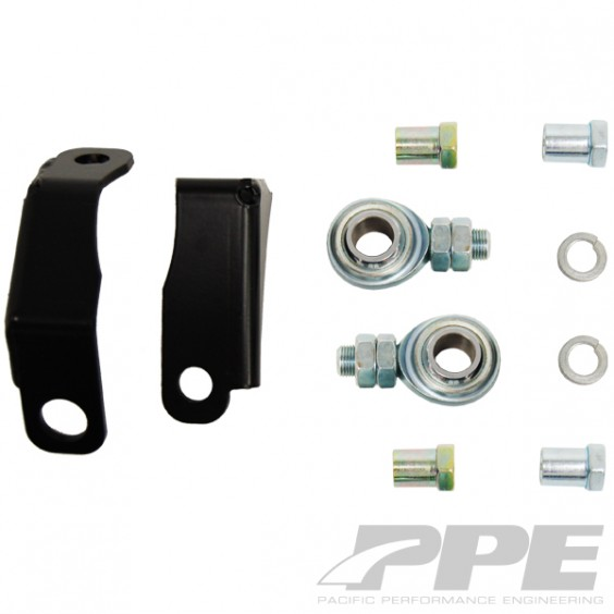 PPE Pitman / Idler Arm Support Kit - 01-13 Chevy 6.6L 4wd/2wd