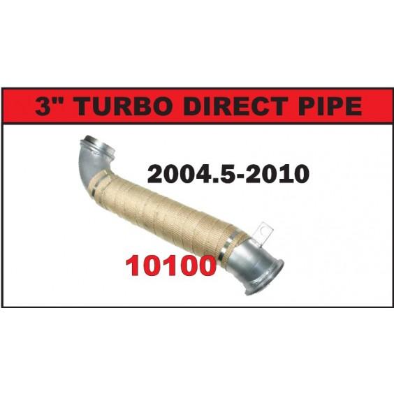 Turbo Downpipe | 04.5-10 Chevy LLY, LBZ & LMM 6.6L Duramax