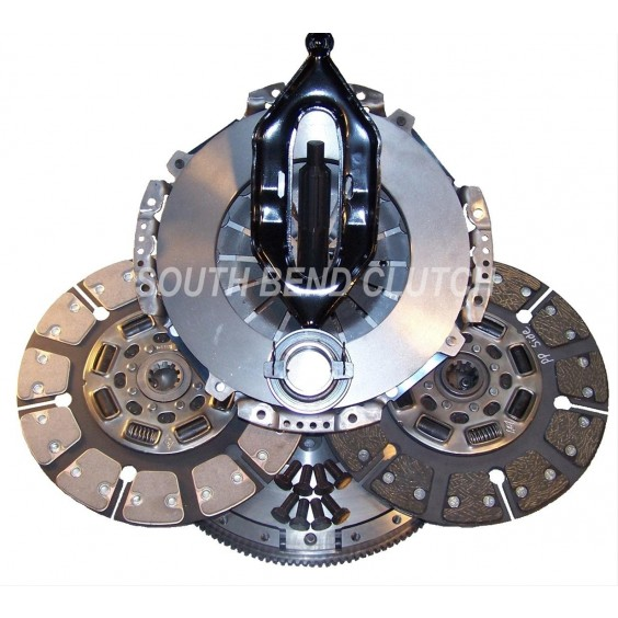 South Bend Clutch SDD3250-G Street Dual Disc for Dodge 2005.5-2013 G56 5.9 & 6.7 Engine