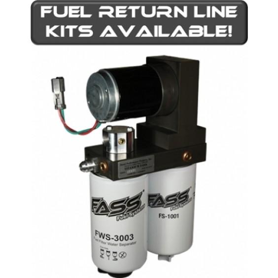 FASS Titanium Signature Series Fuel Lift Pump 250GPH | Class 8 Semi Truck