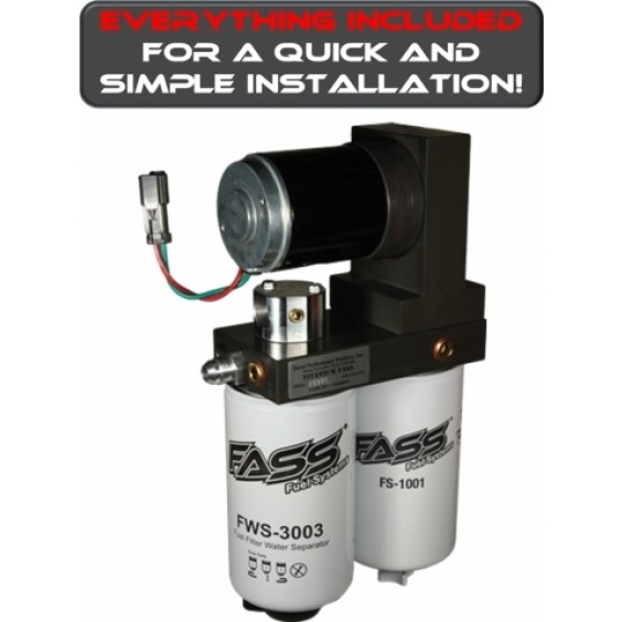 FASS Fuel Lift Pump Kit | 11-14 Chevy 6.6L Duramax
