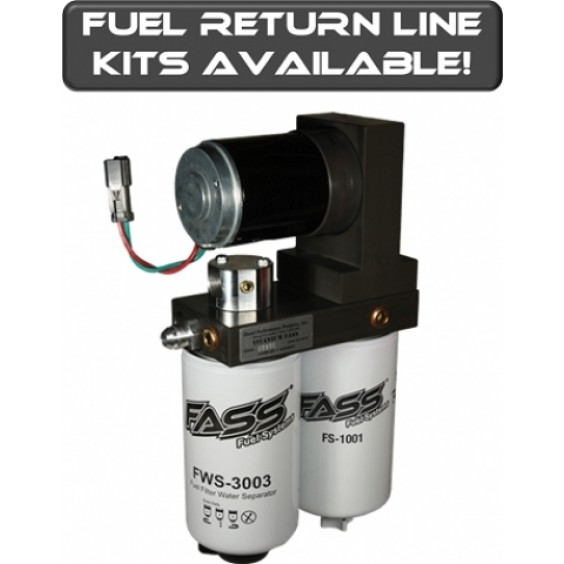 FASS Titanium Signature Series Fuel Lift Pump 165GPH | Class 8 Semi UIM Truck