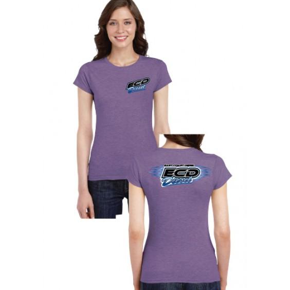 Ladies T-Shirt – Heather Purple