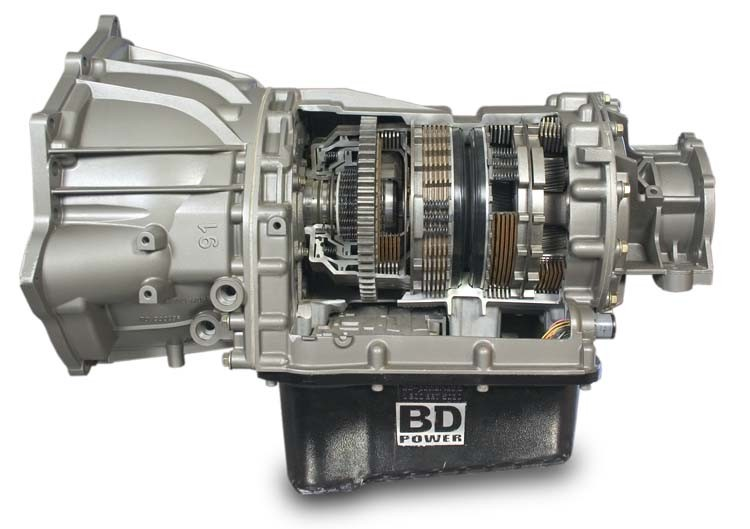 BD Diesel Transmission for Chevy/GMC Duramax