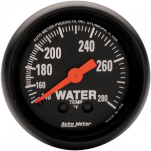 Autometer Z-Series Water Temperature Gauge