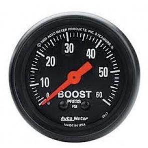 Autometer Z-Series Boost Gauge