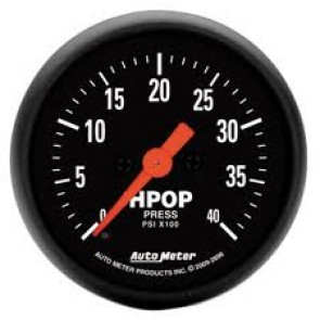 Autometer Z-Series HPOP Gauge