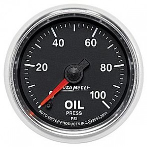 Autometer GS Series Oil Pressure Gauge
