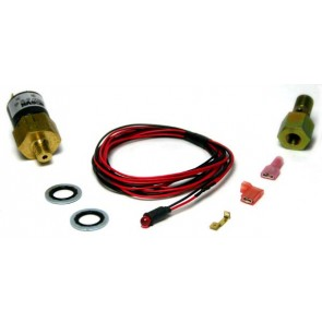 BD Diesel RED Low Fuel Pressure Warning Light
