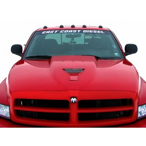East Coast Diesel Windshield Decals